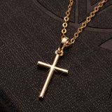 Gold/Silver Plated Cross Necklace