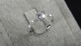 Exquisite 5.0ct AAAAA Mini Crown Ring
