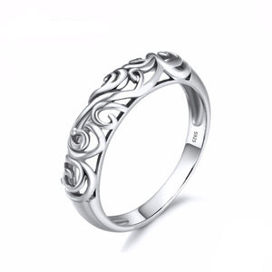 Intricate Vines of Glory Ring