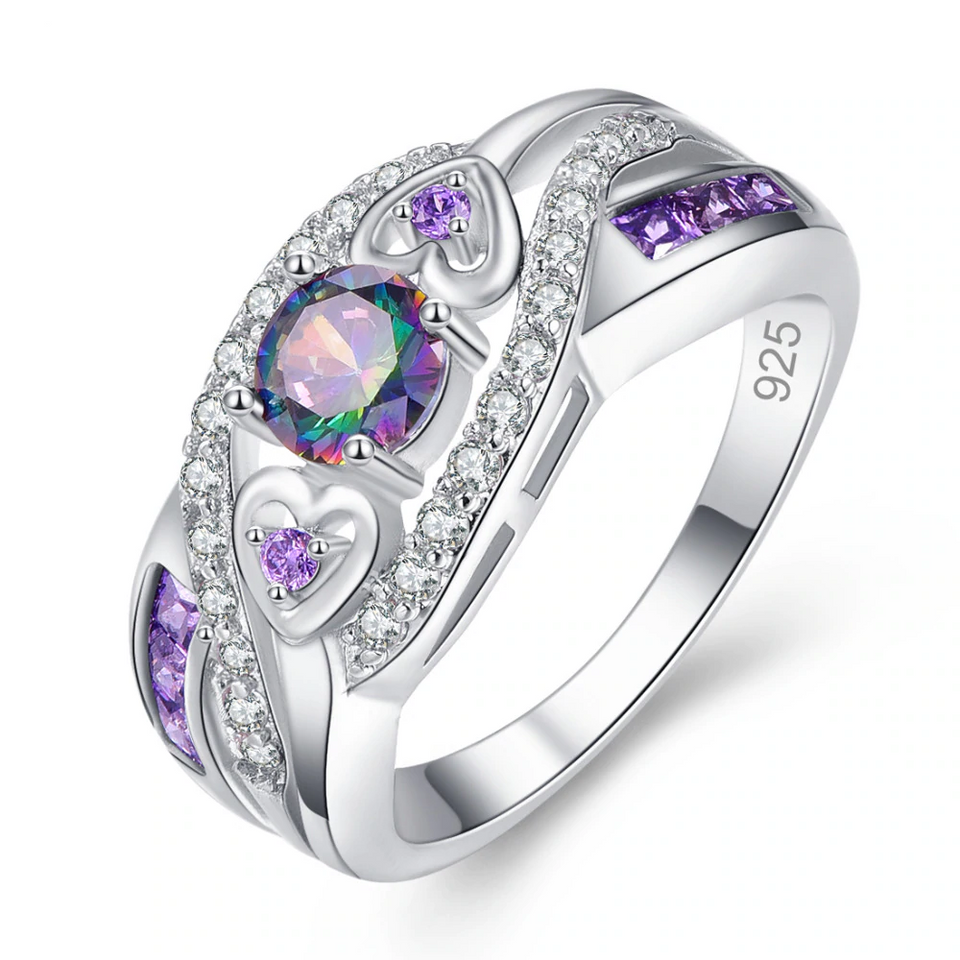 The Mysterious June Alexandrite Diamond Ring