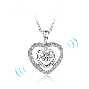 Dancing in My Heart Necklace