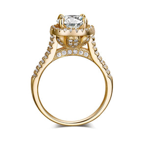 Halo Enchanted Diamond Ring