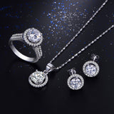 Purity & Elegance Wedding Bridal Bridesmaid Jewelry Sets