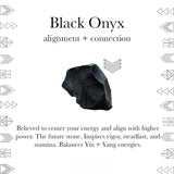 Black Onyx Interchangeable Sterling Silver July Birthstone Ring