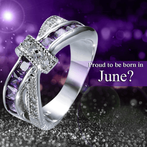 Limited Edition June Alexandrite Gold Filled Ring