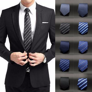 Premium Quality Men's Ties Solid/Narrow Neckwear Polka Dot Twill Men Skinny Silm Neckties