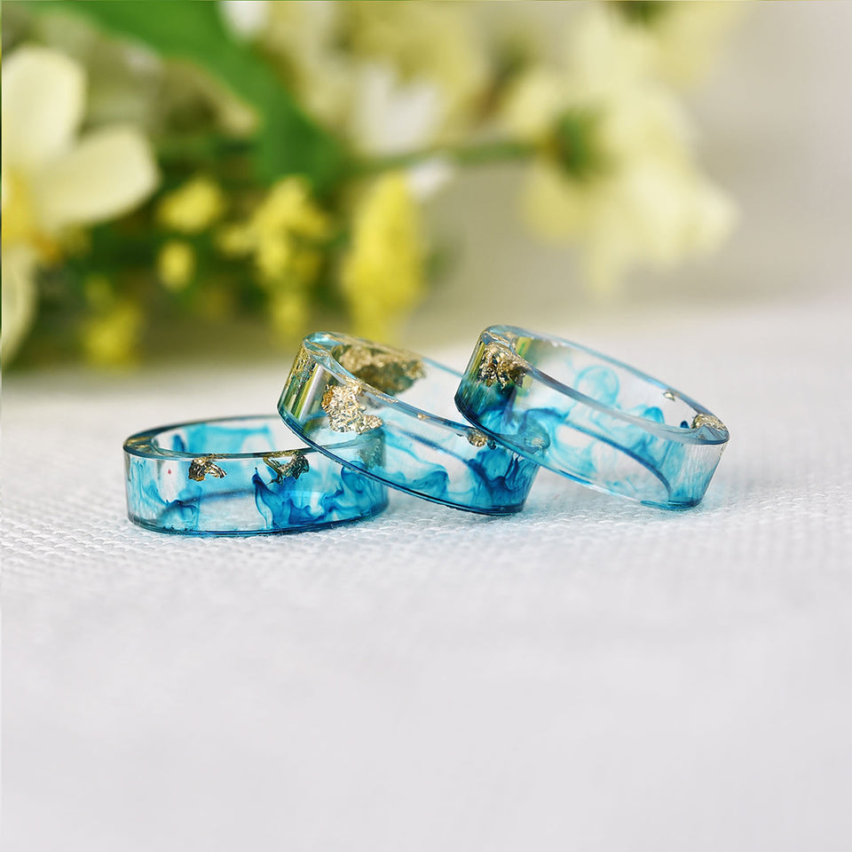 Handmade Ocean Blue Ring