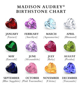 Madison Audrey 100% Genuine Stones $135