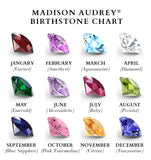 Madison Audrey Genuine Round Cut Stones $60