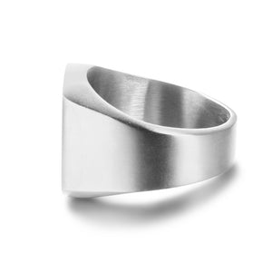Engraveable Men Monogram Ring