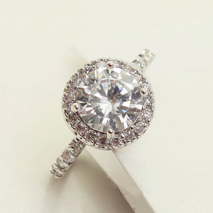The Solitario 1.2 Carat Cubic Zirconia Diamond Ring