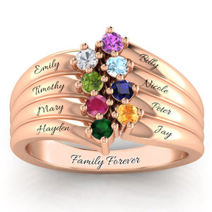 The Exquisite Multi-Wave Ring