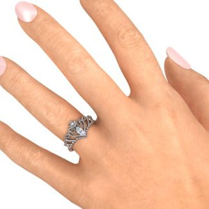 Sterling Silver One & Only Tiara Ring