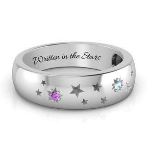 Array of Stars Gemstone Ring