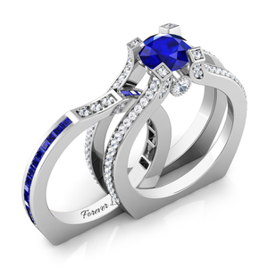 Interchangeable Birthstone Ring Sets