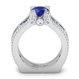 Sapphire Interchangeable (September) Birthstone Ring