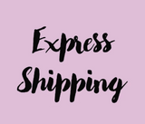 Express Shipping (Personalized Jewelry)