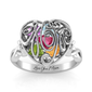 Mom Love for Infinity Swirl Ring