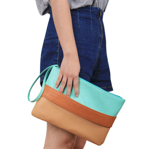 Summer Style Colorful Rainbow Handbag