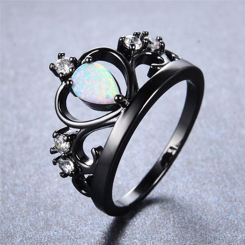 opal image rings women birthstone pink john silver pandora ring october