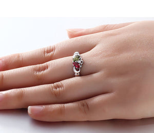 Personalized 925 Sterling Silver Claddagh Ring + FREE Gift Box