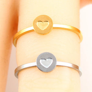 Mix & Match Letter Symbol Ring