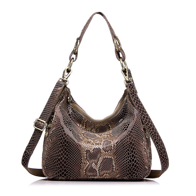 Iconic Serpentine Maramont - Leather Shoulder Bag