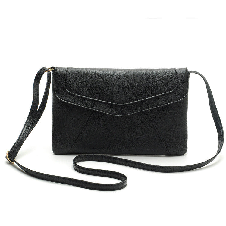 Vintage Crossbody casual leather handbag