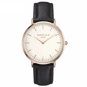Rosefield Genuine Leather Watch
