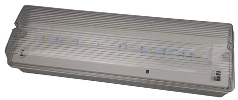 LED Emergency Bulkhead Maintained/Non-Maintained c/w Legend - Greendays Lighting Ltd