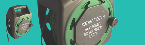 Kewtech - ACC50MTL 50m Extension Test Lead - Greendays Lighting Ltd