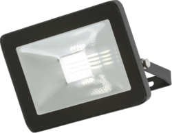 Knightsbridge IP65 20W LED Black Die-Cast Aluminium Floodlight 4000K - Greendays Lighting Ltd