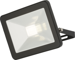 Knightsbridge IP65 30W LED Black Die-Cast Aluminium Floodlight 4000K - Greendays Lighting Ltd