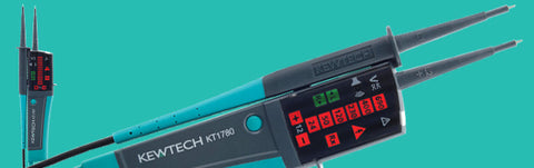 Kewtech - KT1780  2 Pole LED Voltage Tester - Greendays Lighting Ltd