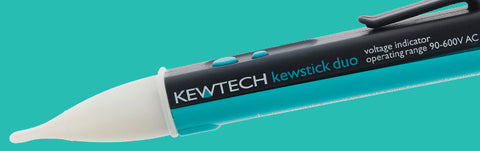 Kewtech - KEWSTICK DUO N/C voltage detector - dual sensitivity - Greendays Lighting Ltd