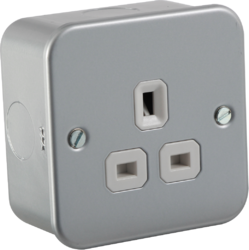 13A 1G unswitched socket - Greendays Lighting Ltd