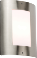 Knightsbridge IP44 E27 40 Watt Max Outdoor Wall Fixture Stainless Steel - Greendays Lighting Ltd