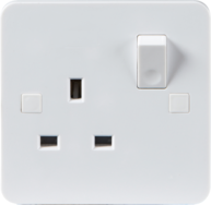 Pure Range Slimline Switched Sockets - Greendays Lighting Ltd