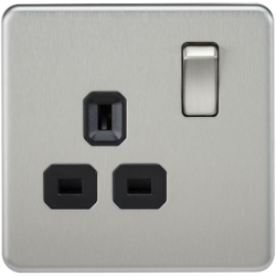 Screwless Range 13A Switched Sockets - Greendays Lighting Ltd