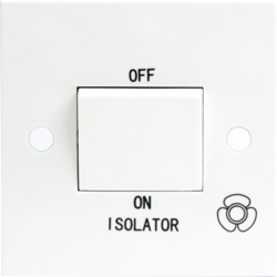 10A 3 Pole Fan Isolator Switch