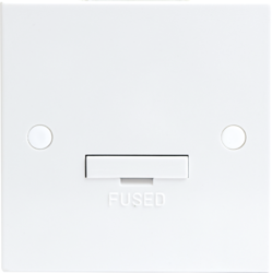 13A Fused Spur Unit with Flex Outlet (3A fuse fitted) - Greendays Lighting Ltd