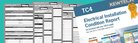 Kewtech - TC4 Condition Report Inspection Schedule for 100A+ supply - Greendays Lighting Ltd