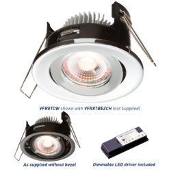 ProKnight IP20 Tilt Downlight - Greendays Lighting Ltd