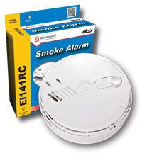 Aico EI141RC 240v Ionisation Smoke Alarm + Base - Greendays Lighting Ltd