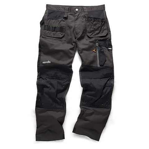 Scruffs 3D Trade Trousers - Graphite - Greendays Lighting Ltd