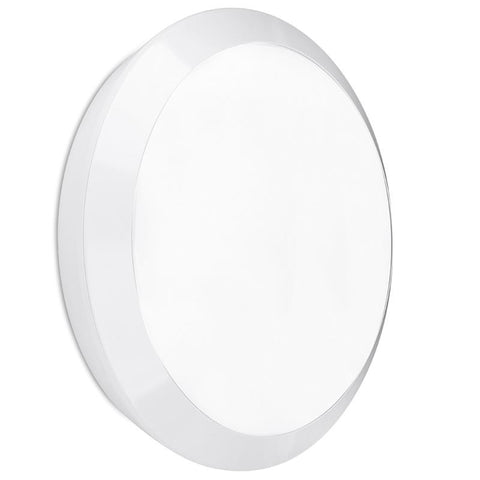 EnLite Orbital 15w Polycarbonate IP66 Round LED Bulkhead 4000K - Greendays Lighting Ltd