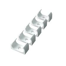 Pvc Conduit Clip Oval 25mm White - Box 100pcs - Greendays Lighting Ltd