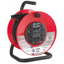 Schneider Jo-Jo JJR42513 Extension Cable Reel 25 Metre 4x13A - Greendays Lighting Ltd