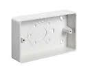 Schneider Mita KBU321W 1g 32mm Square Corner PVC 20mm Cond. Entry Box - Greendays Lighting Ltd