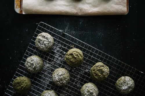 A batch of toasty and aromatic matcha green tea cake cookies are the perfect sweet way to impress your loved ones